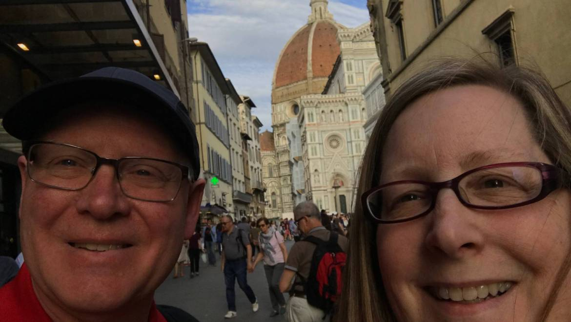 When in Rome . . . or even in Florence!